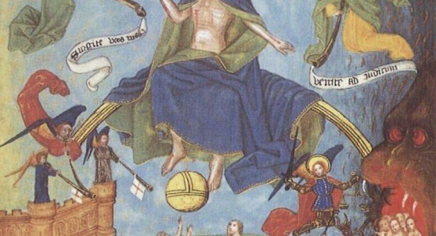 1465 um, Pembroke Psalter-Hours, Stundenbuch, Pforte © Museum of Modern Art, Philadelphia
