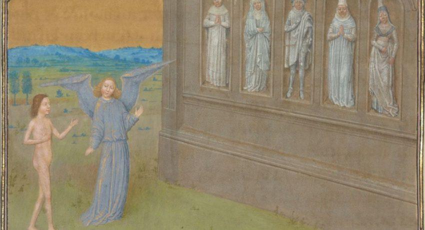 1474, Tondal, fol. 33v, Meister Simon Marmion, Aalenciennes © J. Paul Getty Museum, Los Angeles
